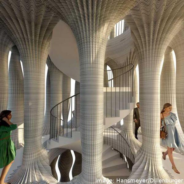 Инженеры ETH проектируют 23-метровую 3D-печатную башню