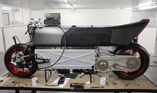 Самый быстрый в мире электробайк WMC250EV